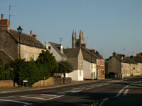 The High Street and St Sampson's Church